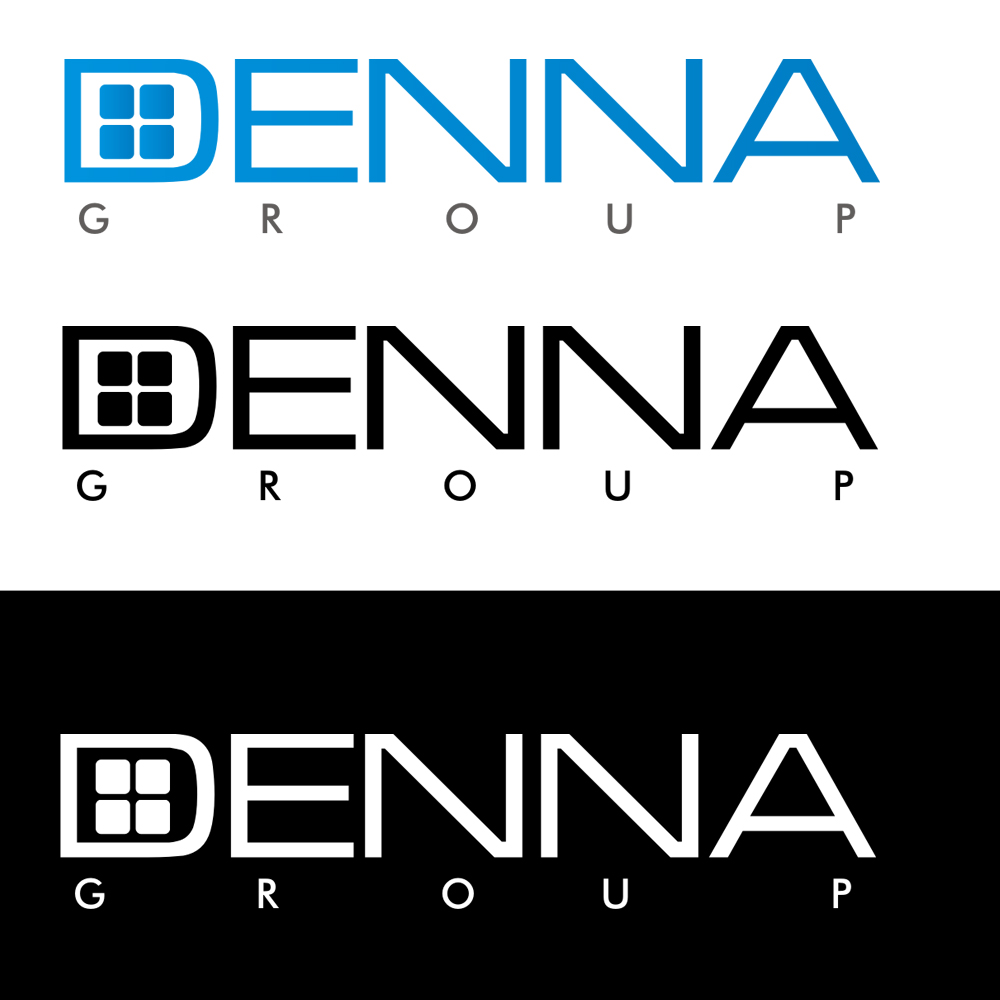 Logo Design by Bobby Yoga P - Entry No. 255 in the Logo Design Contest Denna Group Logo Design.
