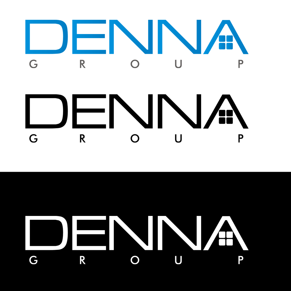 Logo Design by Bobby Yoga P - Entry No. 256 in the Logo Design Contest Denna Group Logo Design.