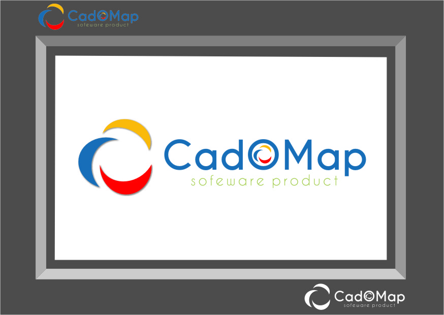 Logo Design by RasYa Muhammad Athaya - Entry No. 178 in the Logo Design Contest Captivating Logo Design for CadOMap software product.