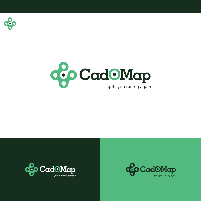 Logo Design by Private User - Entry No. 179 in the Logo Design Contest Captivating Logo Design for CadOMap software product.