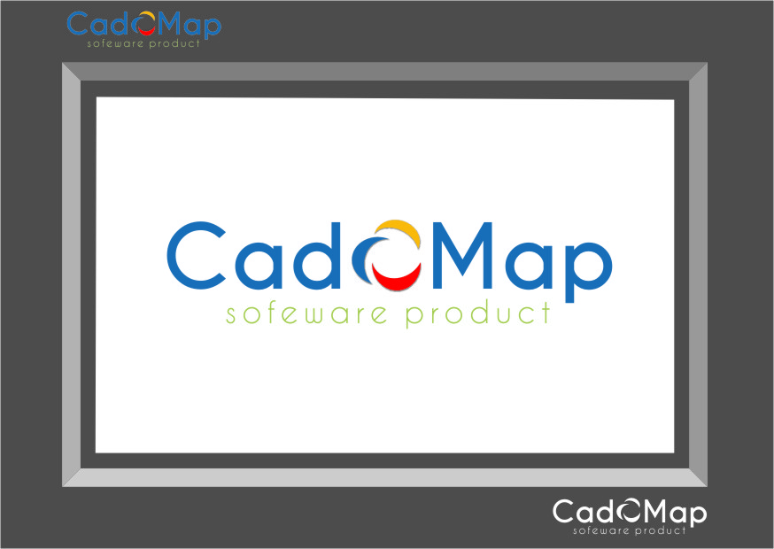 Logo Design by RasYa Muhammad Athaya - Entry No. 181 in the Logo Design Contest Captivating Logo Design for CadOMap software product.