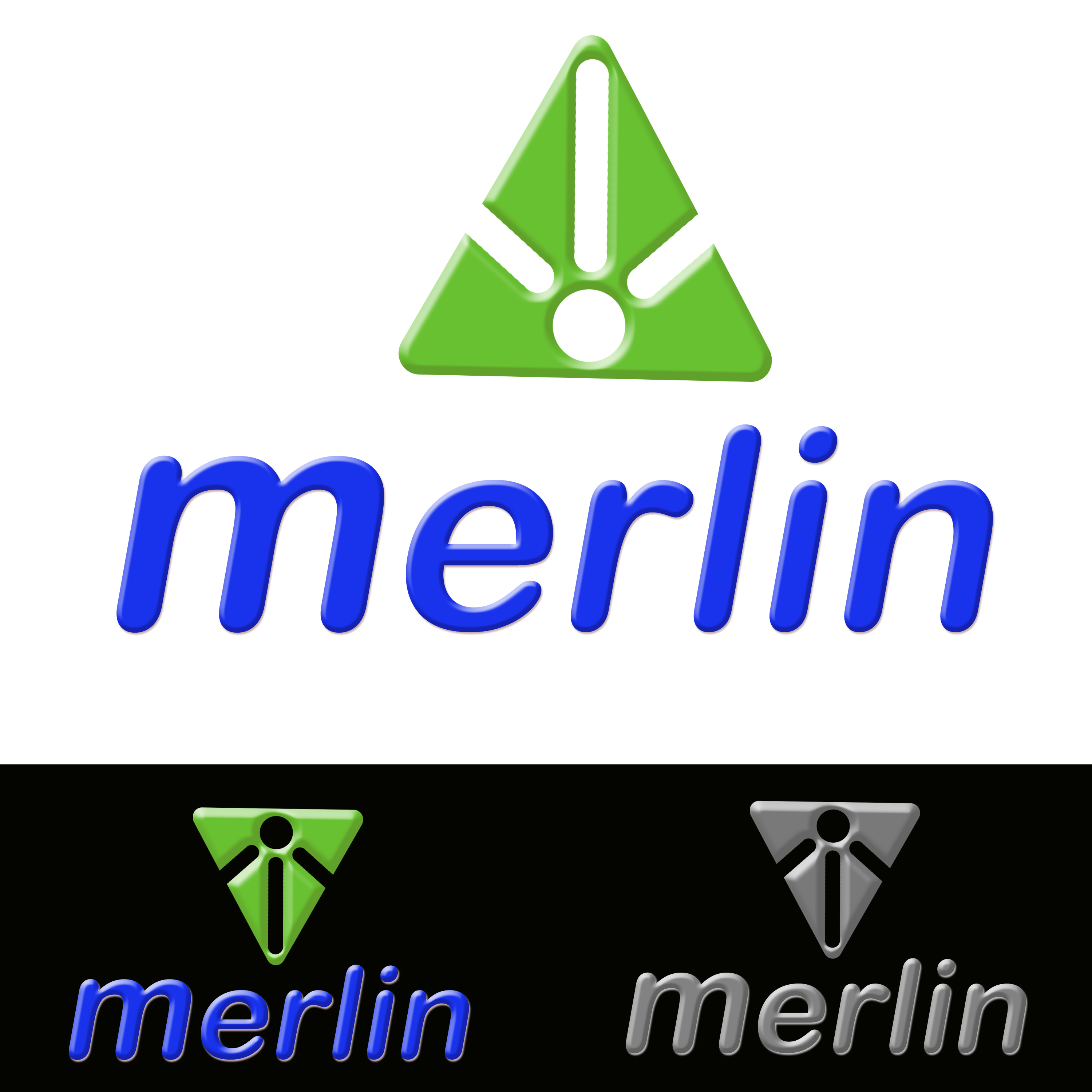 Logo Design by Roberto Sibbaluca - Entry No. 29 in the Logo Design Contest Imaginative Logo Design for Merlin.