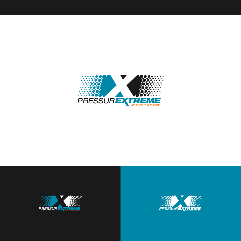 Logo Design by Private User - Entry No. 34 in the Logo Design Contest New Logo Design for PRESSUREXTREME.
