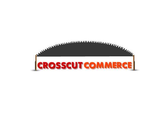 Logo Design by Ismail Adhi Wibowo - Entry No. 35 in the Logo Design Contest New Logo Design for CrossCut Commerce.