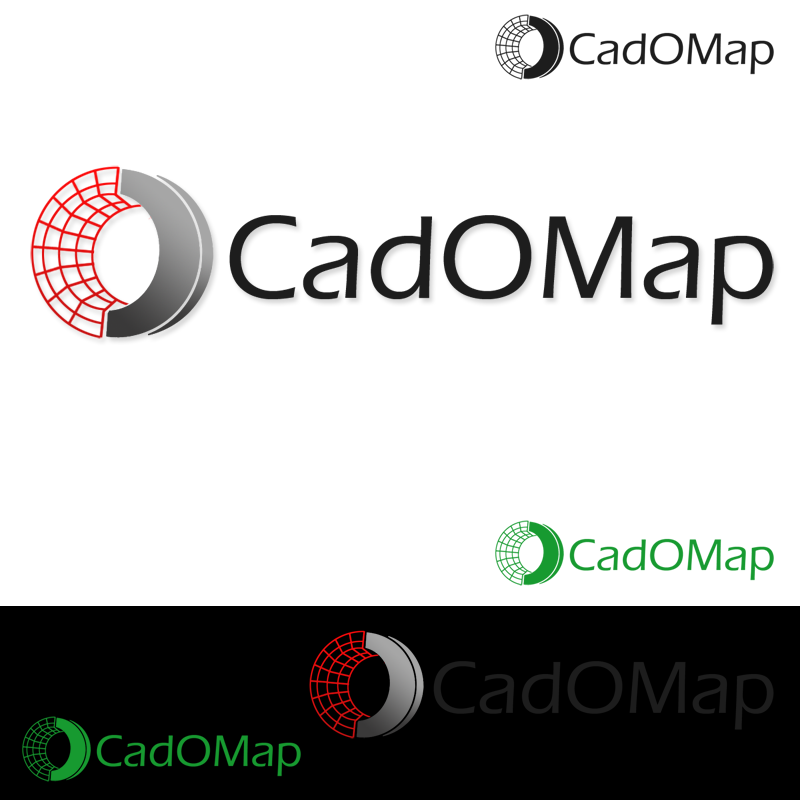 Logo Design by Private User - Entry No. 183 in the Logo Design Contest Captivating Logo Design for CadOMap software product.