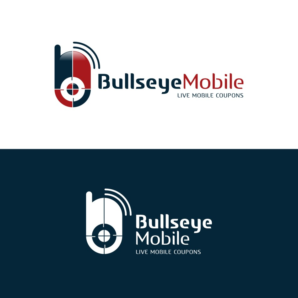 Logo Design by hugolouroza - Entry No. 41 in the Logo Design Contest Bullseye Mobile.