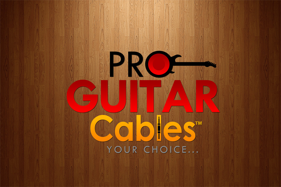 Logo Design by Private User - Entry No. 57 in the Logo Design Contest Pro Guitar Cables Logo Design.