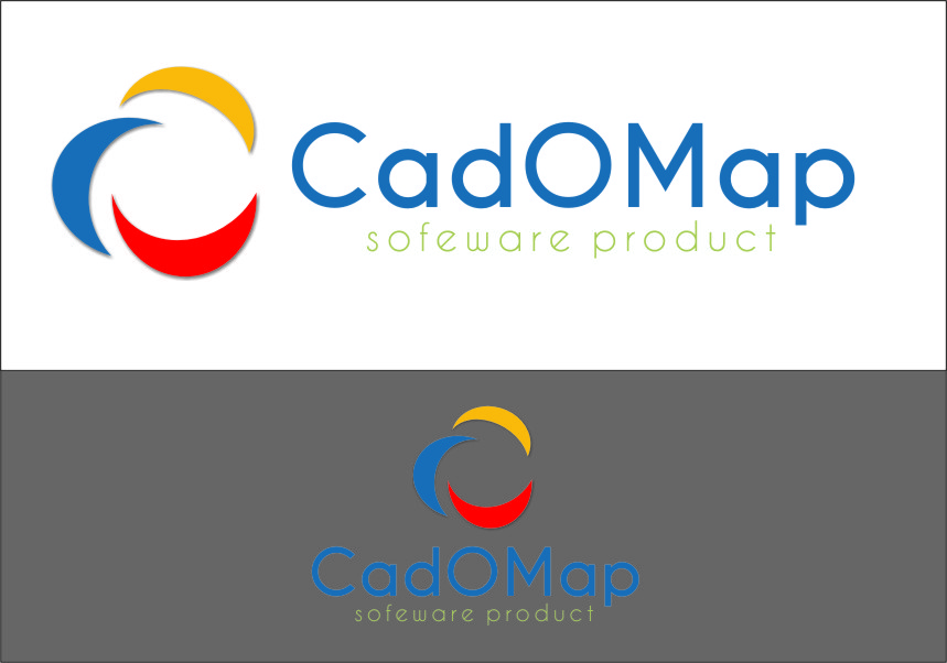 Logo Design by RasYa Muhammad Athaya - Entry No. 184 in the Logo Design Contest Captivating Logo Design for CadOMap software product.