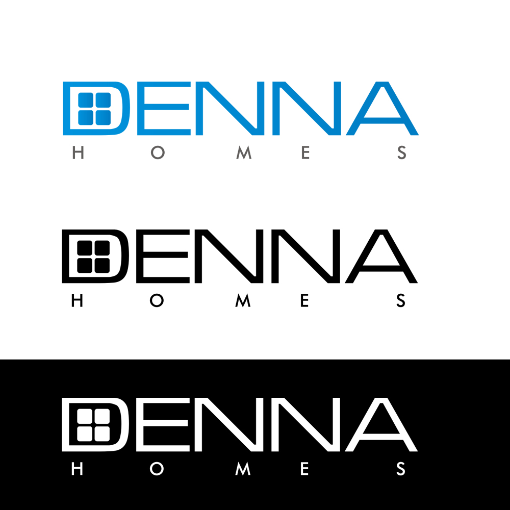 Logo Design by Bobby Yoga P - Entry No. 266 in the Logo Design Contest Denna Group Logo Design.