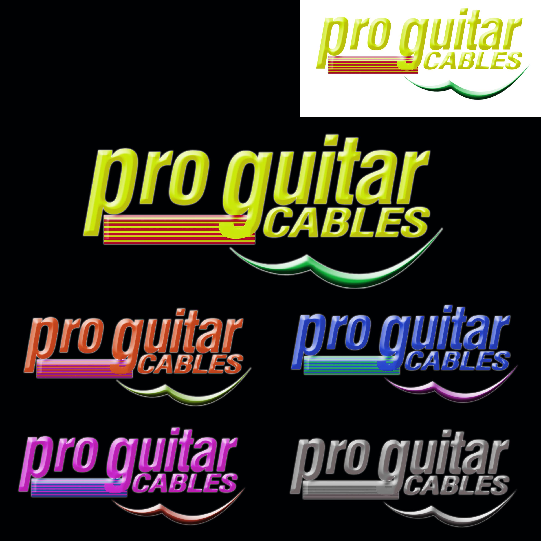 Logo Design by Roberto Sibbaluca - Entry No. 62 in the Logo Design Contest Pro Guitar Cables Logo Design.