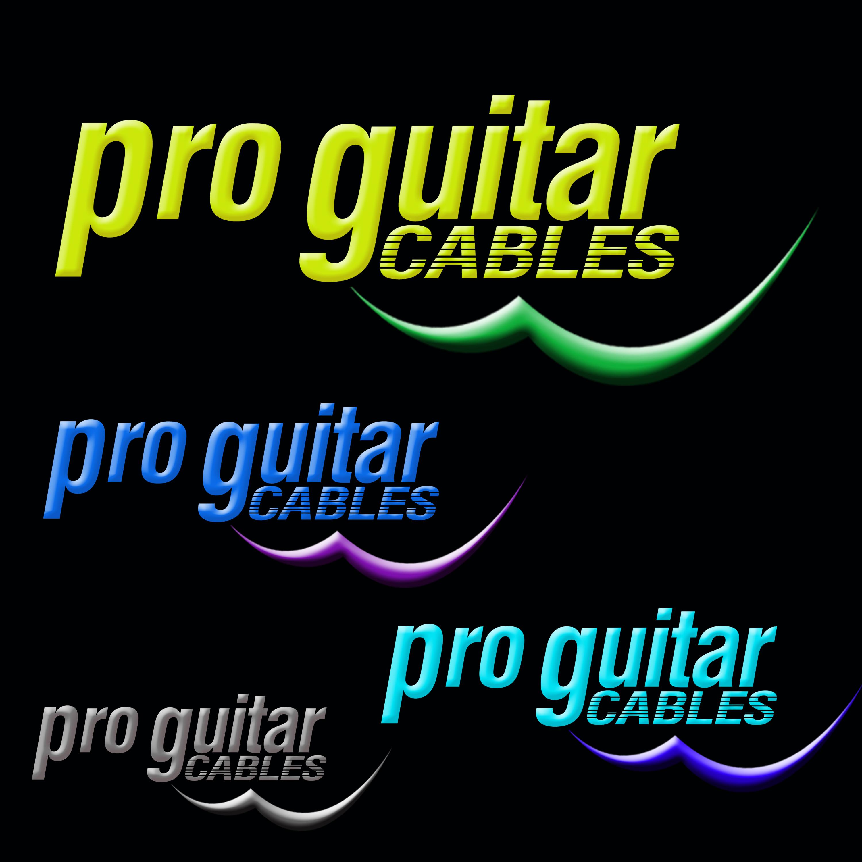 Logo Design by Roberto Sibbaluca - Entry No. 63 in the Logo Design Contest Pro Guitar Cables Logo Design.
