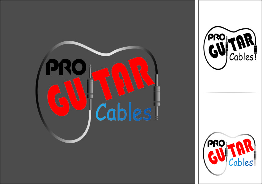 Logo Design by Ngepet_art - Entry No. 64 in the Logo Design Contest Pro Guitar Cables Logo Design.