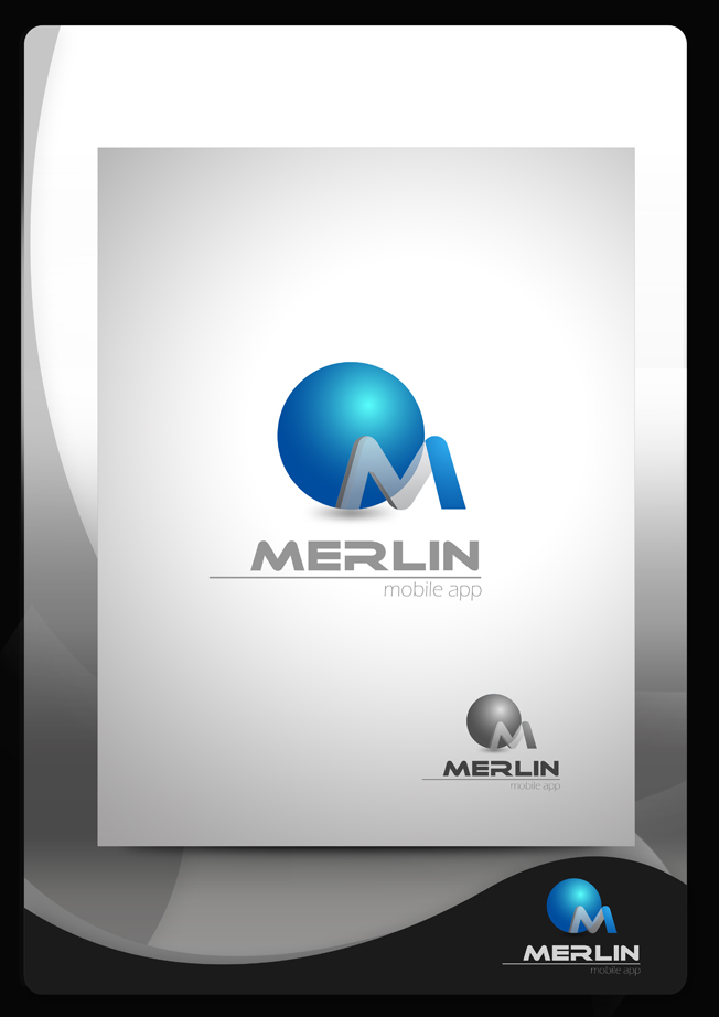 Logo Design by Mark Anthony Moreto Jordan - Entry No. 35 in the Logo Design Contest Imaginative Logo Design for Merlin.