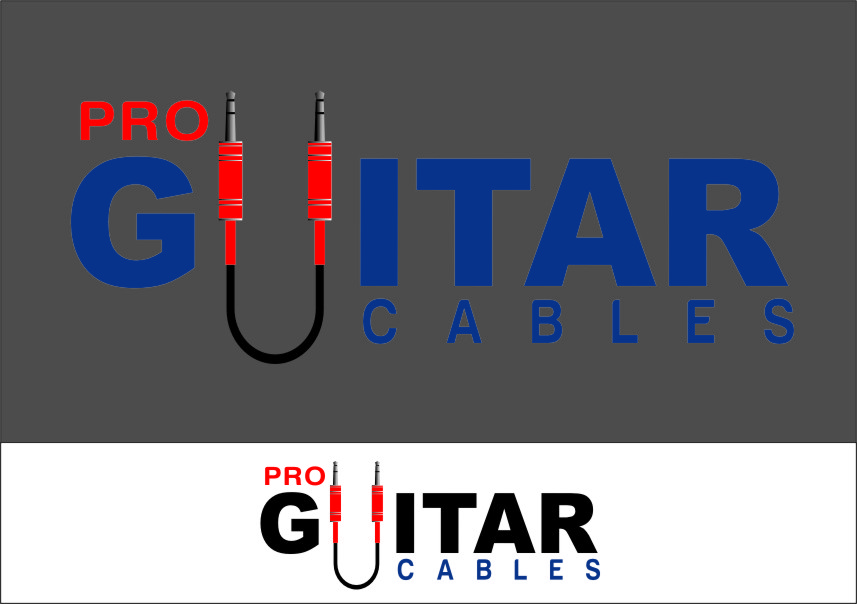 Logo Design by RasYa Muhammad Athaya - Entry No. 72 in the Logo Design Contest Pro Guitar Cables Logo Design.