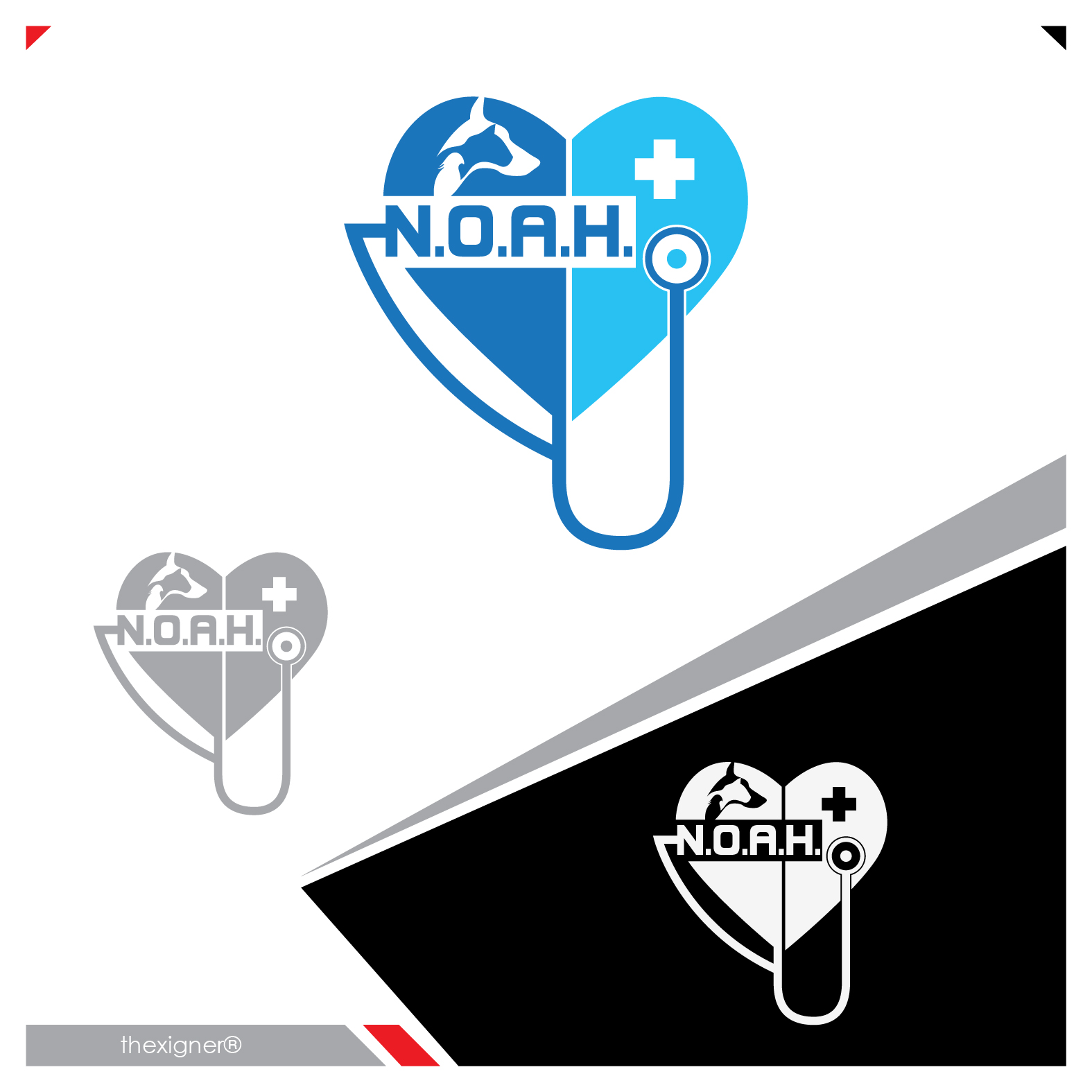 Logo Design by lagalag - Entry No. 39 in the Logo Design Contest Fun Logo Design for N.O.A.H..