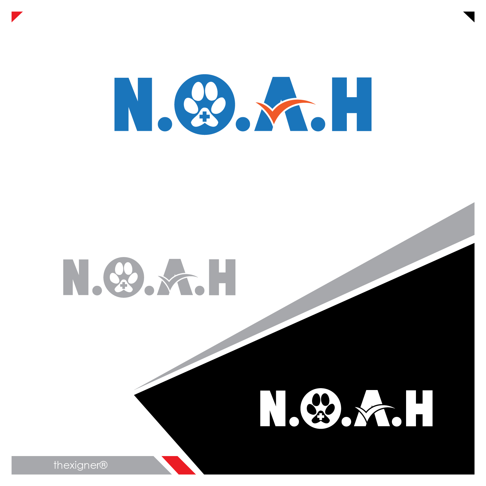 Logo Design by lagalag - Entry No. 40 in the Logo Design Contest Fun Logo Design for N.O.A.H..