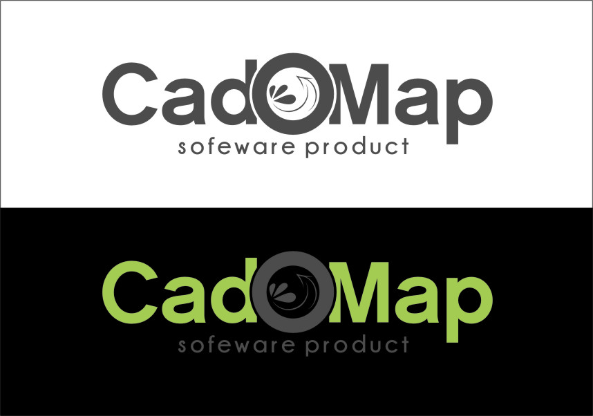 Logo Design by Ngepet_art - Entry No. 186 in the Logo Design Contest Captivating Logo Design for CadOMap software product.