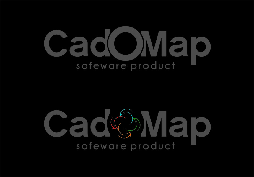 Logo Design by Ngepet_art - Entry No. 187 in the Logo Design Contest Captivating Logo Design for CadOMap software product.