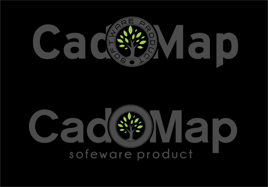 Logo Design by RasYa Muhammad Athaya - Entry No. 188 in the Logo Design Contest Captivating Logo Design for CadOMap software product.