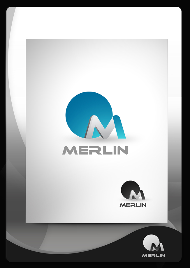 Logo Design by Mark Anthony Moreto Jordan - Entry No. 40 in the Logo Design Contest Imaginative Logo Design for Merlin.