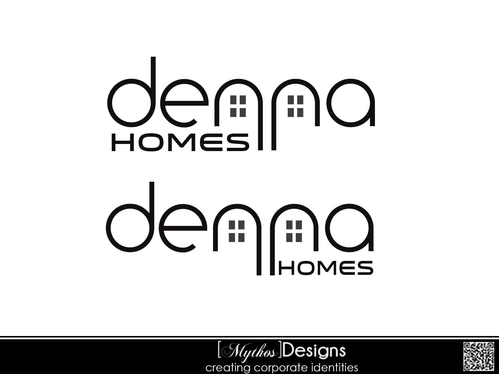 Logo Design by Mythos Designs - Entry No. 277 in the Logo Design Contest Denna Group Logo Design.