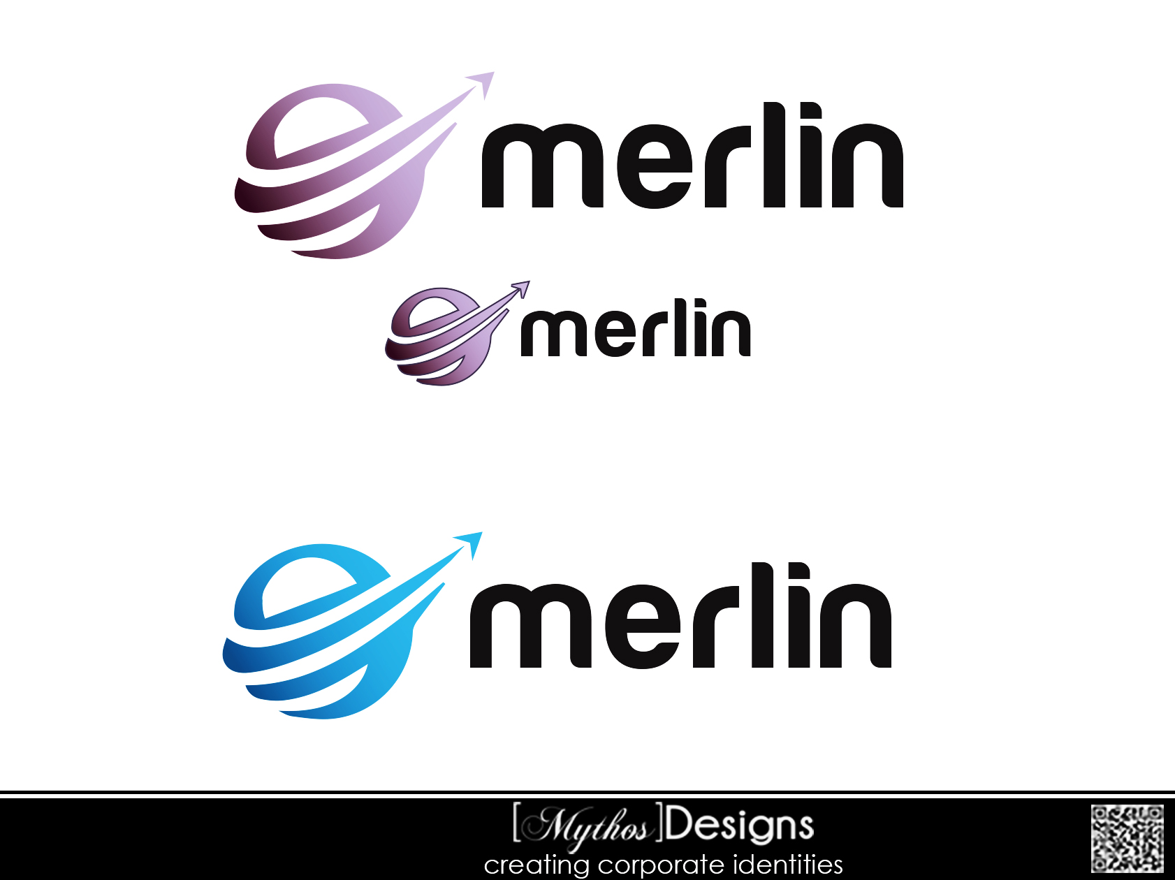 Logo Design by Mythos Designs - Entry No. 41 in the Logo Design Contest Imaginative Logo Design for Merlin.