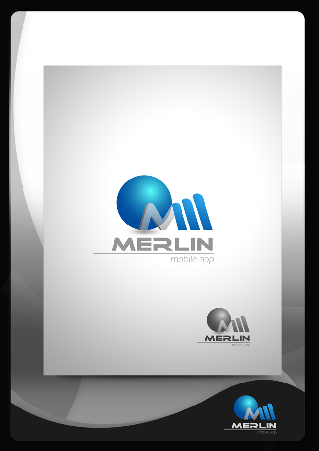 Logo Design by Mark Anthony Moreto Jordan - Entry No. 42 in the Logo Design Contest Imaginative Logo Design for Merlin.