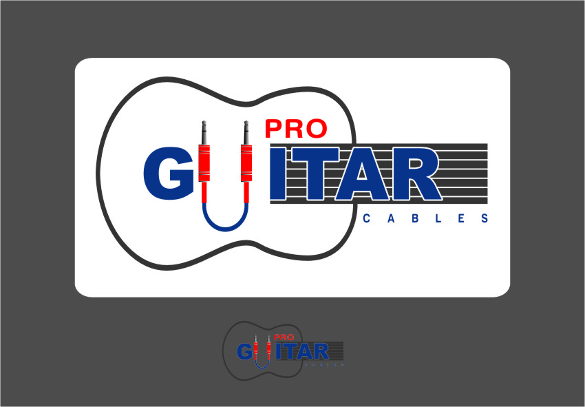 Logo Design by RoSyid Rono-Rene On Java - Entry No. 76 in the Logo Design Contest Pro Guitar Cables Logo Design.