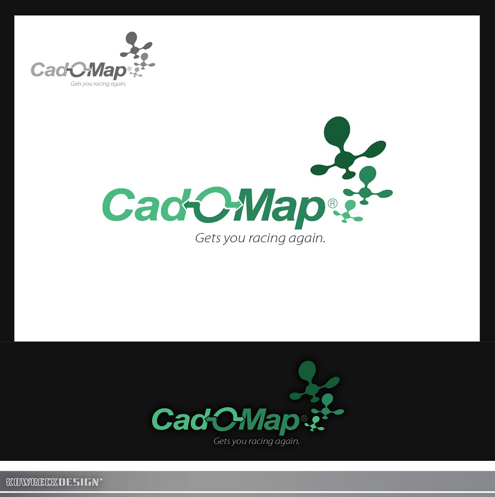 Logo Design by kowreck - Entry No. 190 in the Logo Design Contest Captivating Logo Design for CadOMap software product.