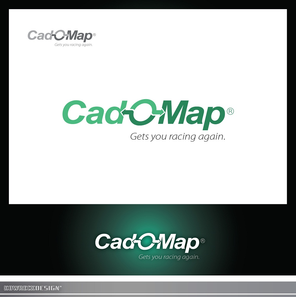 Logo Design by kowreck - Entry No. 191 in the Logo Design Contest Captivating Logo Design for CadOMap software product.