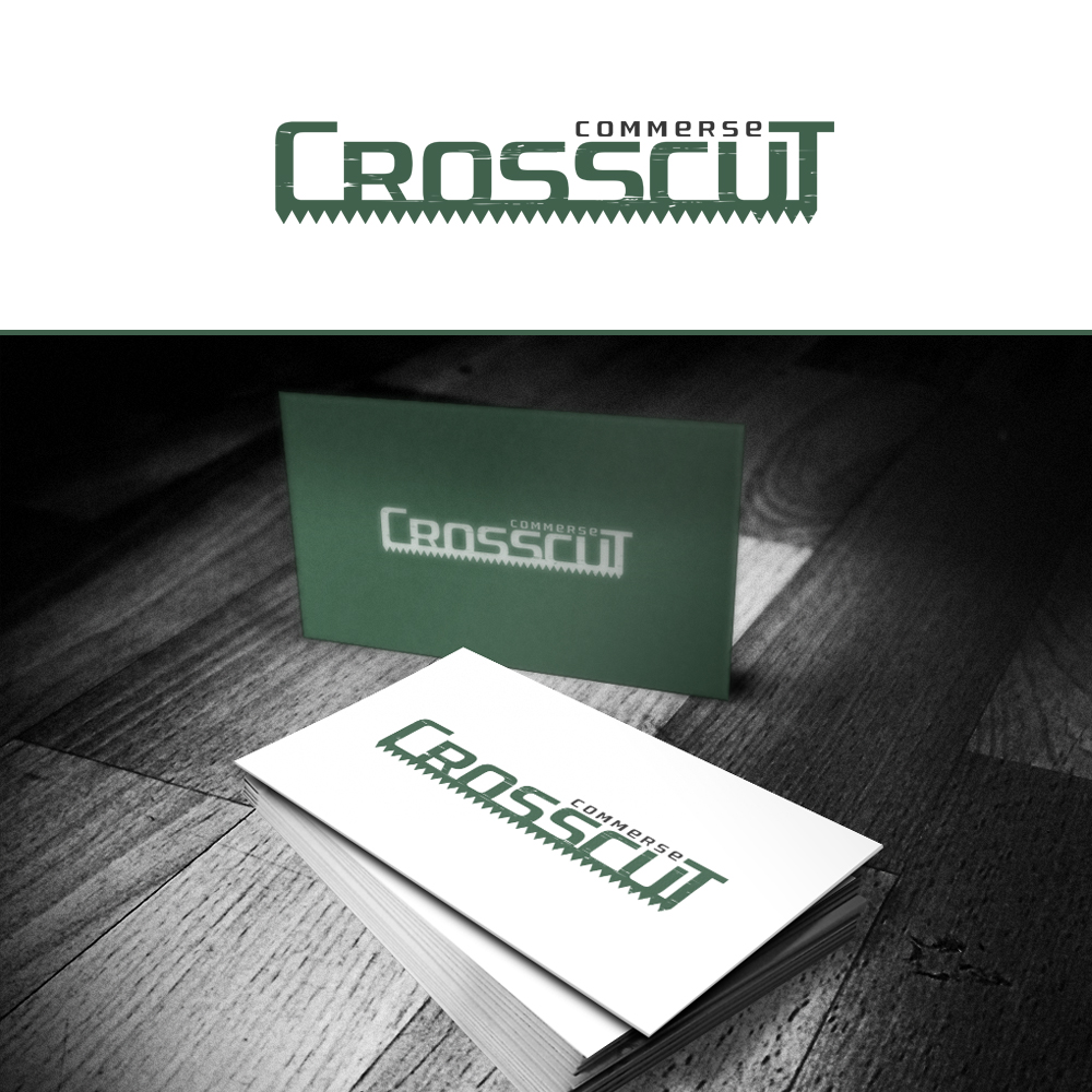 Logo Design by omARTist - Entry No. 49 in the Logo Design Contest New Logo Design for CrossCut Commerce.