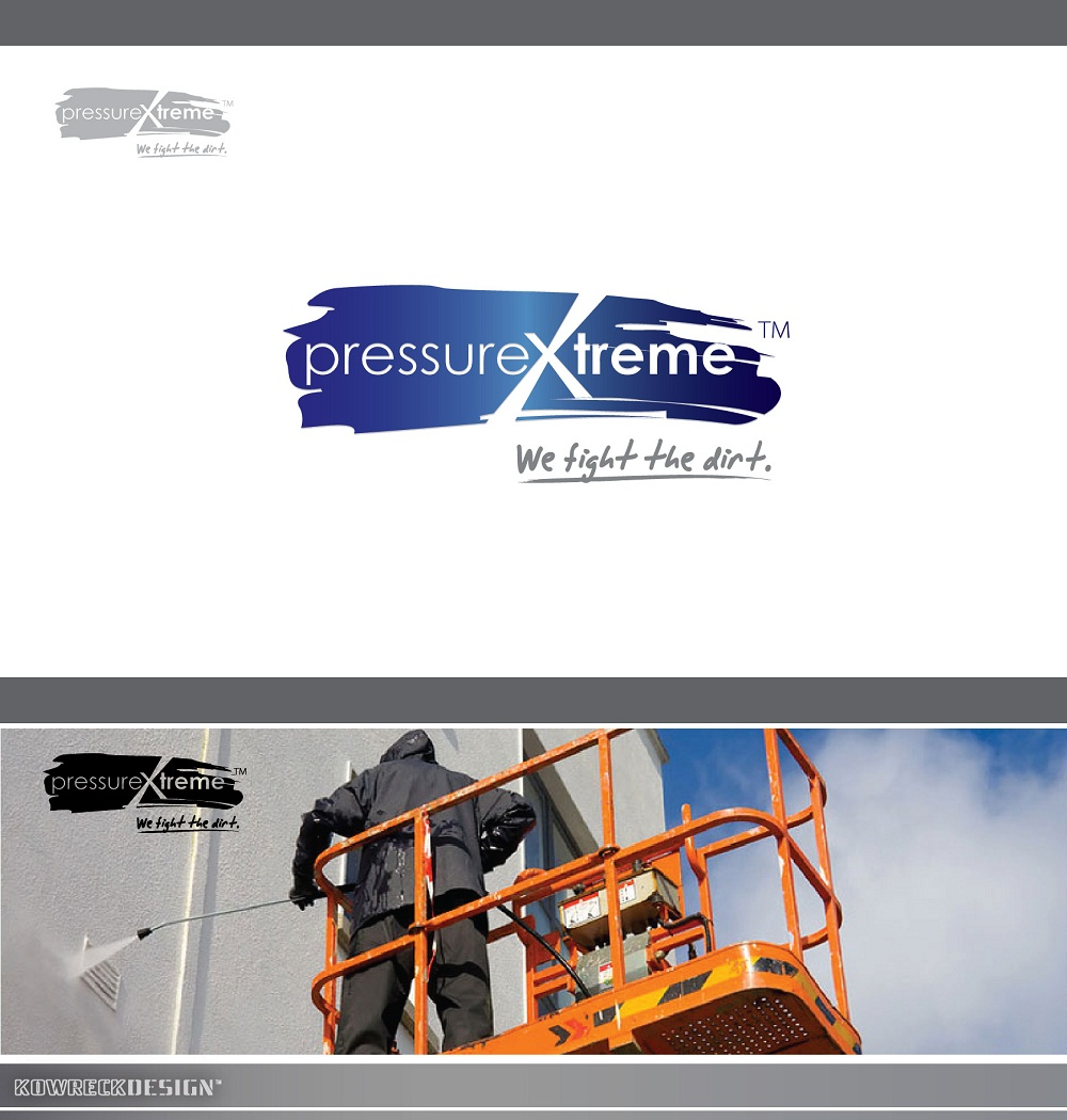 Logo Design by kowreck - Entry No. 39 in the Logo Design Contest New Logo Design for PRESSUREXTREME.