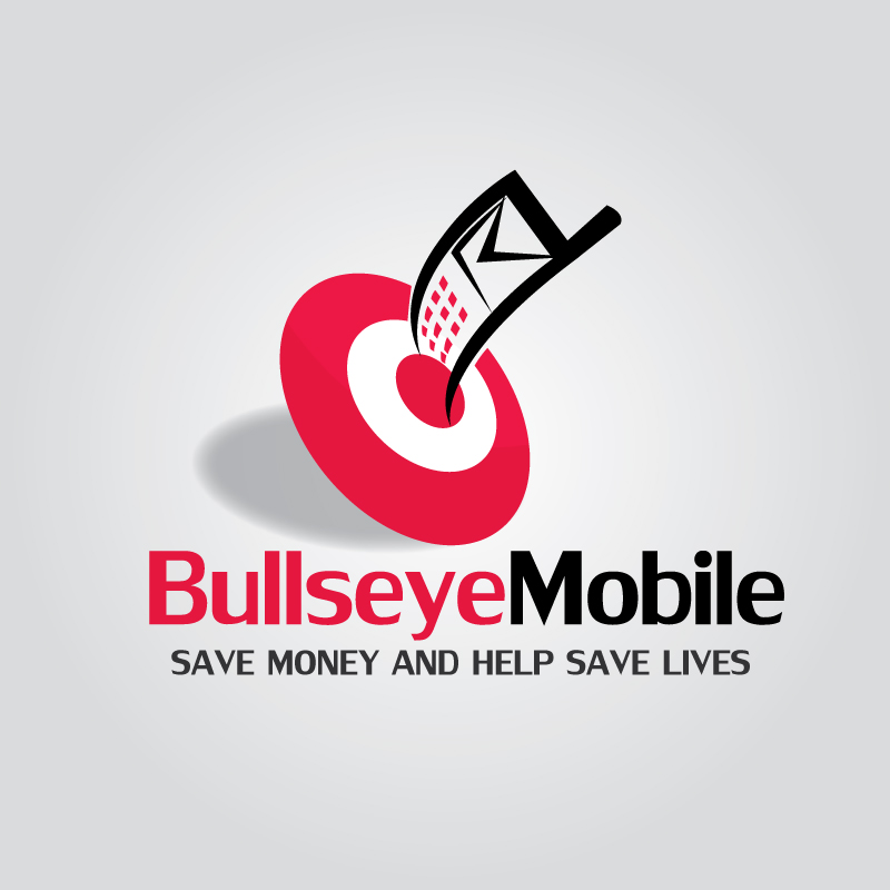 Logo Design by Subha Islam - Entry No. 43 in the Logo Design Contest Bullseye Mobile.