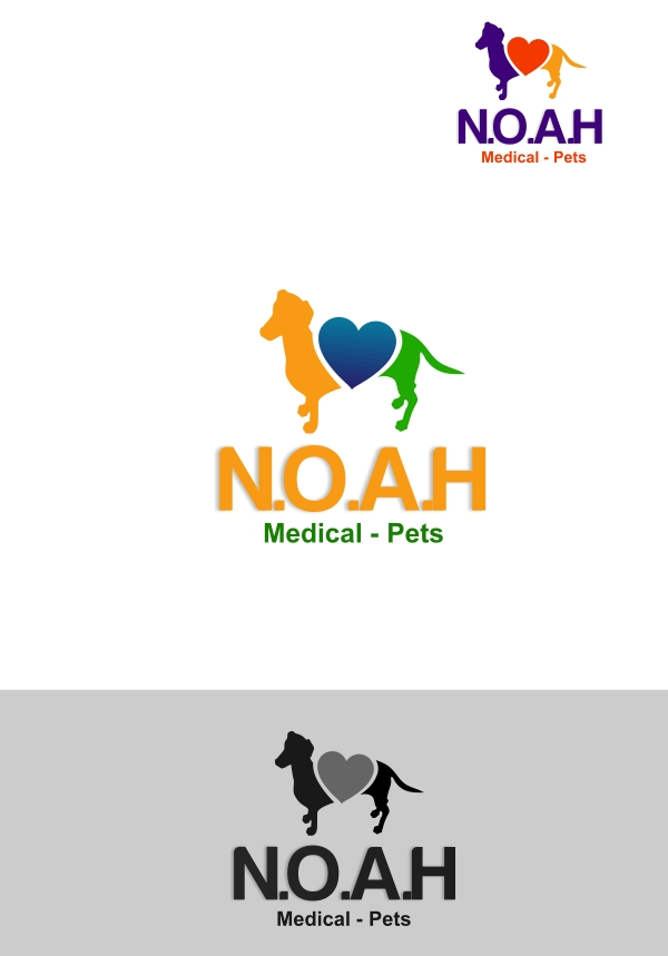 Logo Design by Private User - Entry No. 45 in the Logo Design Contest Fun Logo Design for N.O.A.H..