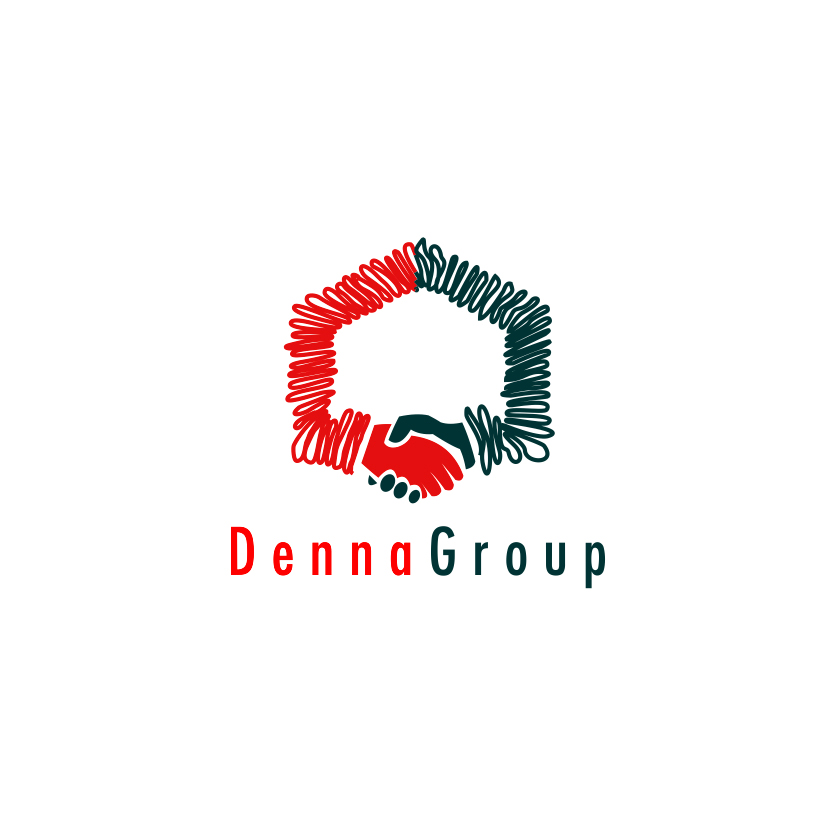 Logo Design by Think - Entry No. 289 in the Logo Design Contest Denna Group Logo Design.