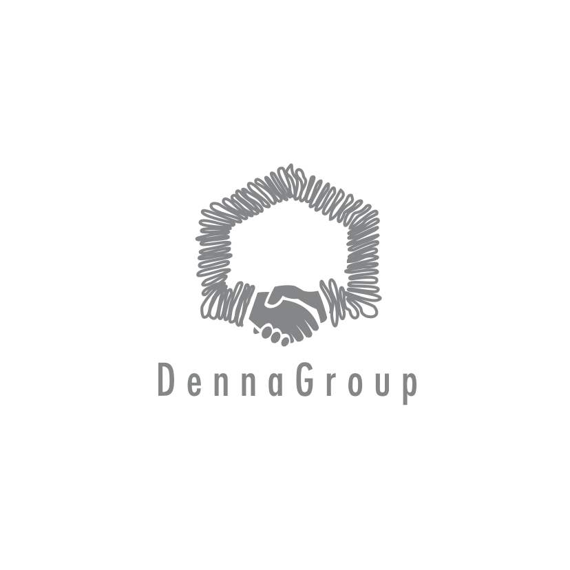 Logo Design by Think - Entry No. 290 in the Logo Design Contest Denna Group Logo Design.
