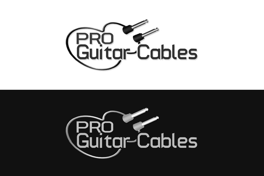 Logo Design by Private User - Entry No. 90 in the Logo Design Contest Pro Guitar Cables Logo Design.