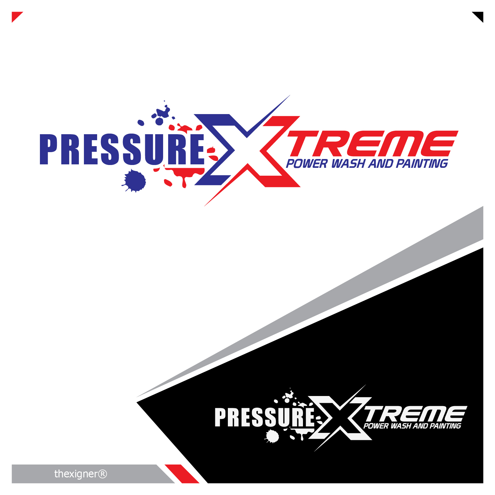 Logo Design by lagalag - Entry No. 47 in the Logo Design Contest New Logo Design for PRESSUREXTREME.