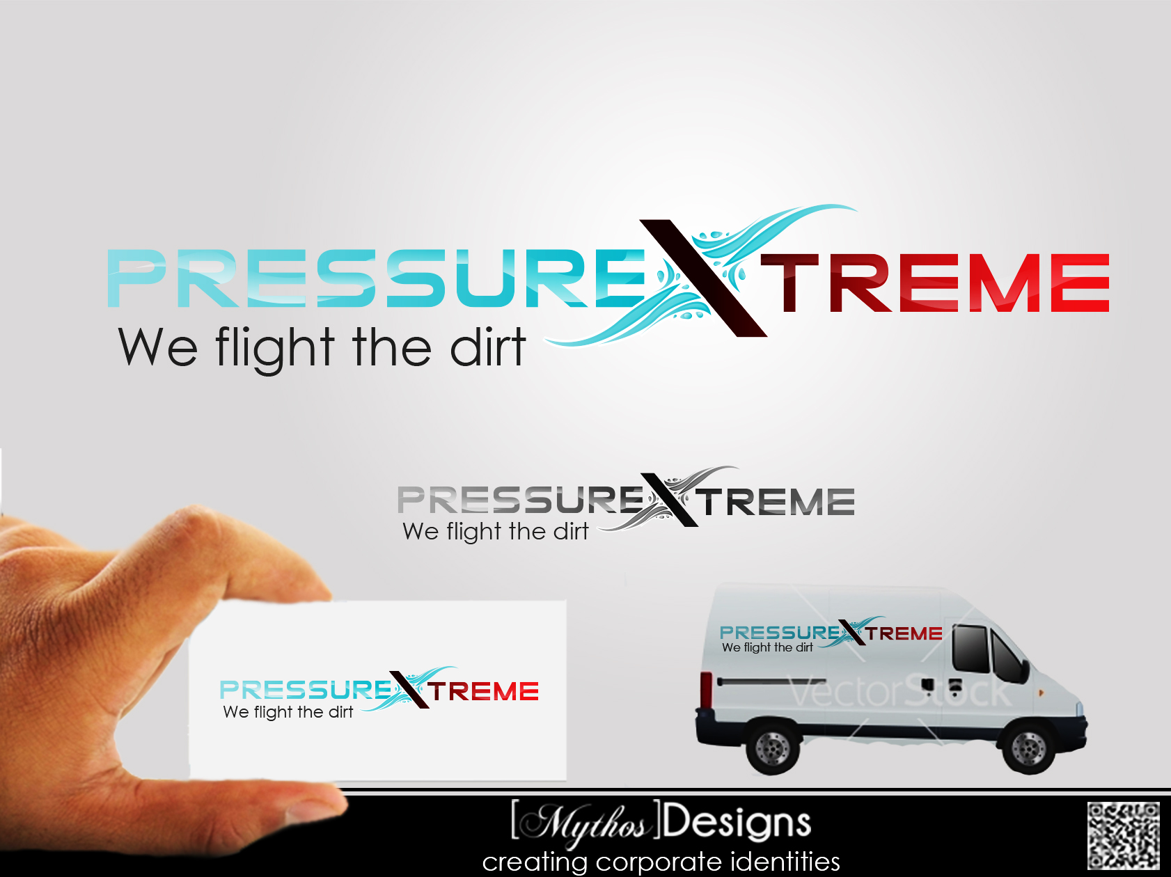 Logo Design by Mythos Designs - Entry No. 53 in the Logo Design Contest New Logo Design for PRESSUREXTREME.