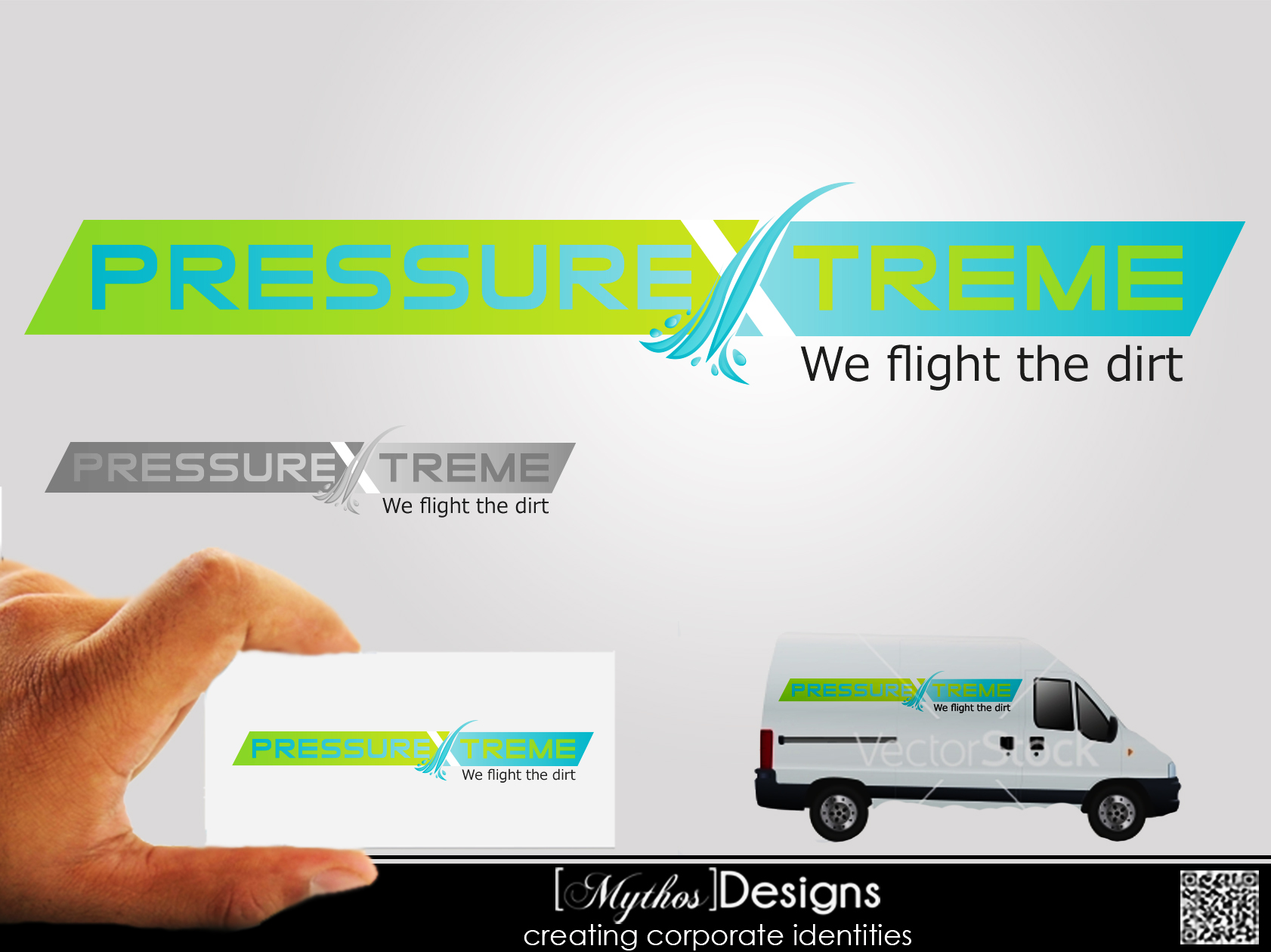 Logo Design by Mythos Designs - Entry No. 55 in the Logo Design Contest New Logo Design for PRESSUREXTREME.