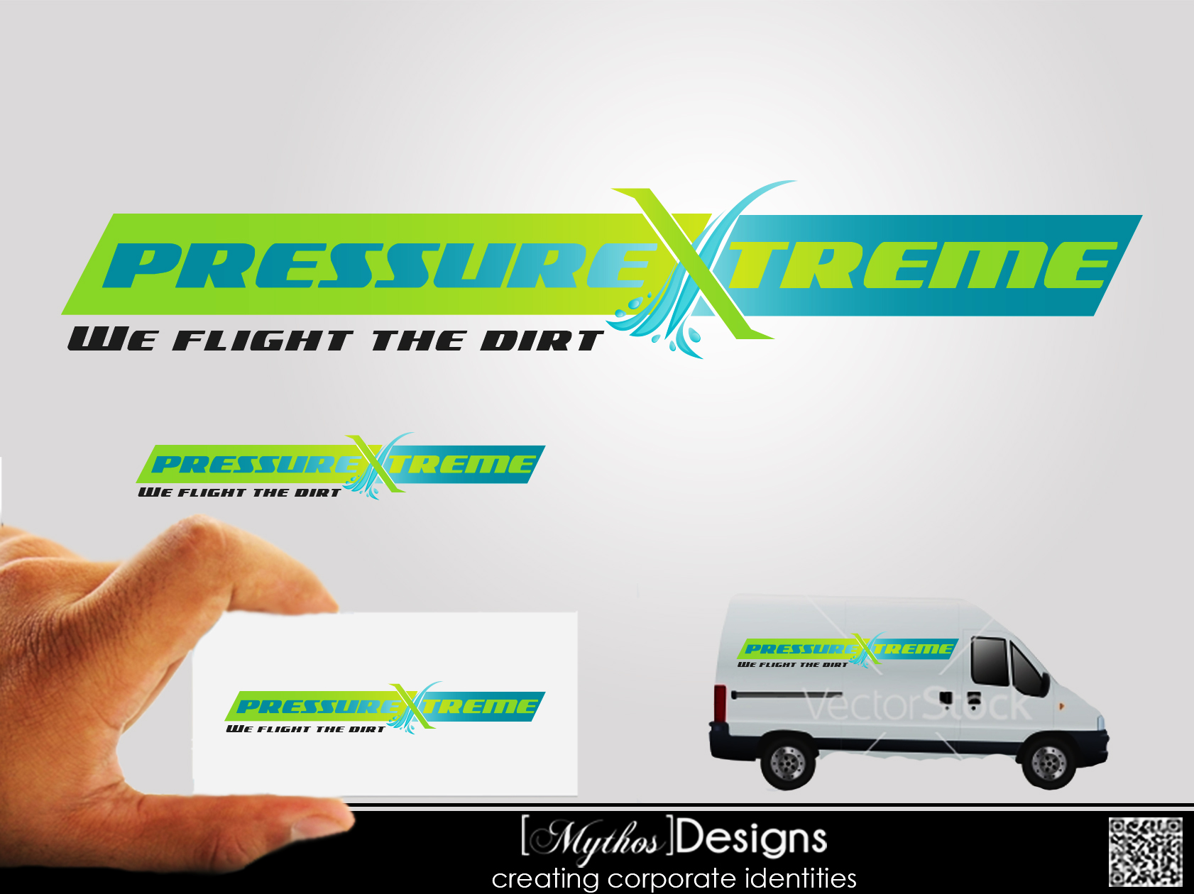 Logo Design by Mythos Designs - Entry No. 57 in the Logo Design Contest New Logo Design for PRESSUREXTREME.
