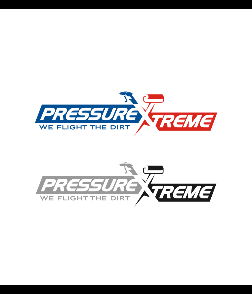 Logo Design by graphicleaf - Entry No. 58 in the Logo Design Contest New Logo Design for PRESSUREXTREME.