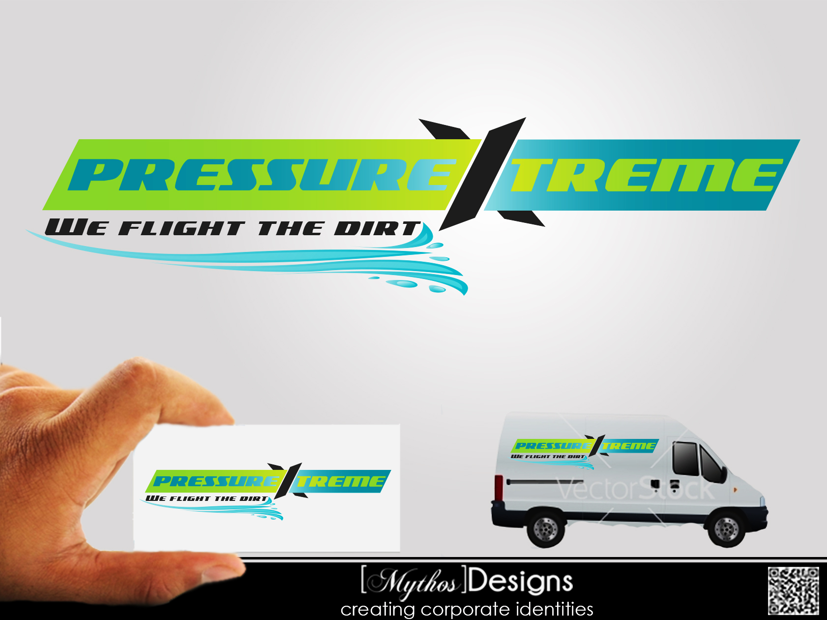 Logo Design by Mythos Designs - Entry No. 59 in the Logo Design Contest New Logo Design for PRESSUREXTREME.