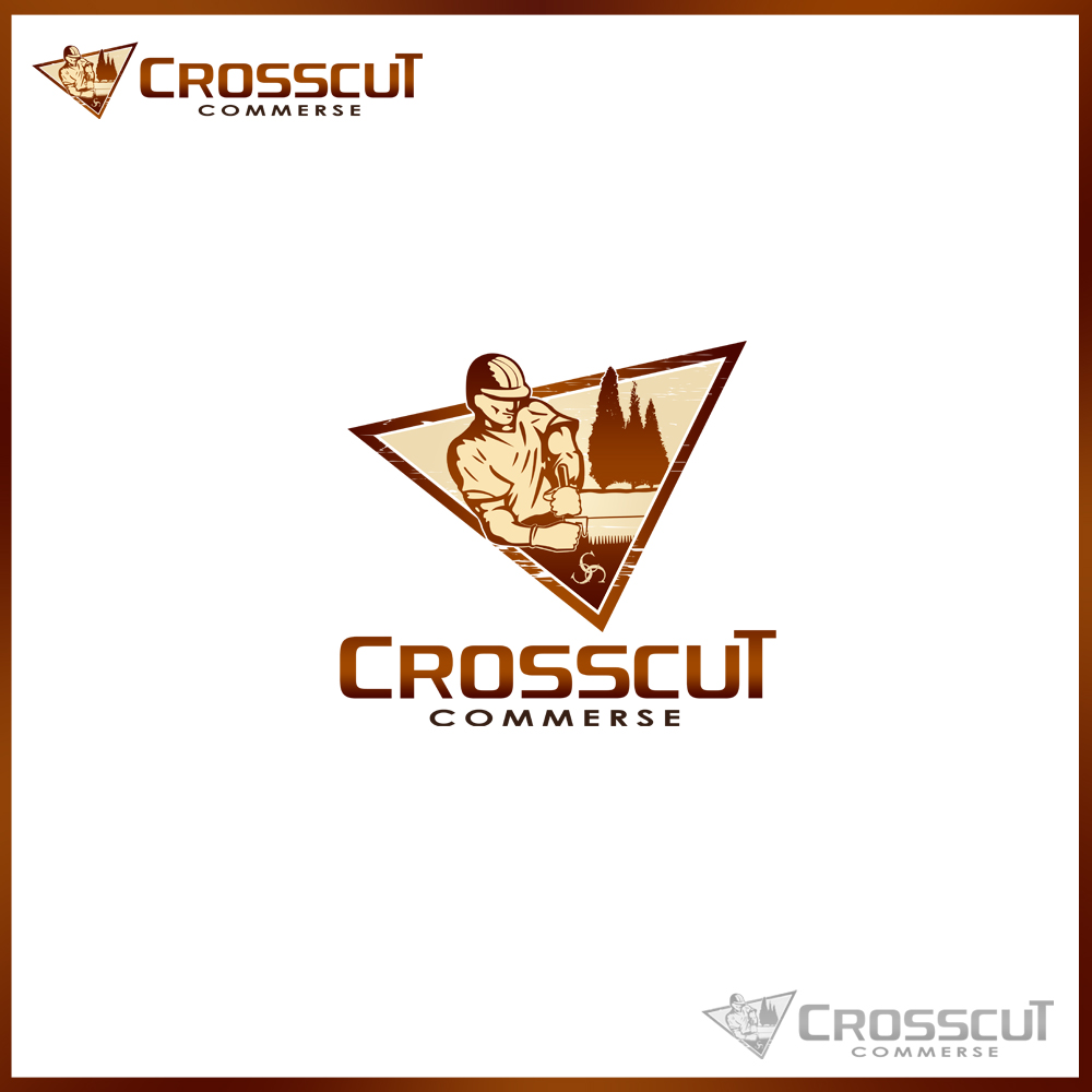 Logo Design by omARTist - Entry No. 51 in the Logo Design Contest New Logo Design for CrossCut Commerce.