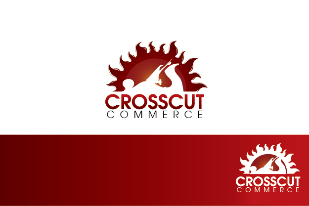 Logo Design by Private User - Entry No. 54 in the Logo Design Contest New Logo Design for CrossCut Commerce.