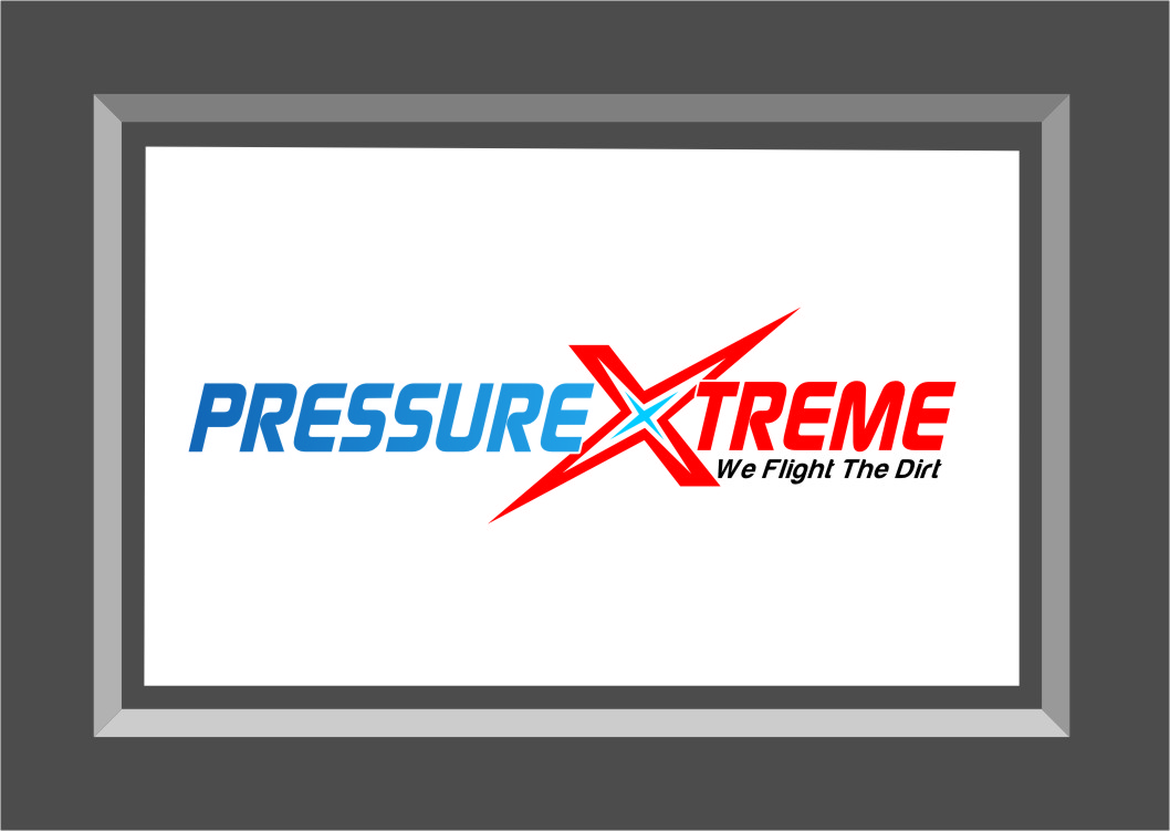 Logo Design by RasYa Muhammad Athaya - Entry No. 62 in the Logo Design Contest New Logo Design for PRESSUREXTREME.