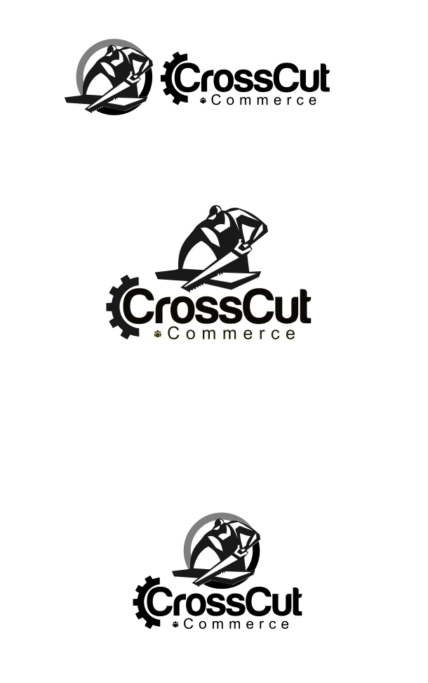 Logo Design by Private User - Entry No. 55 in the Logo Design Contest New Logo Design for CrossCut Commerce.