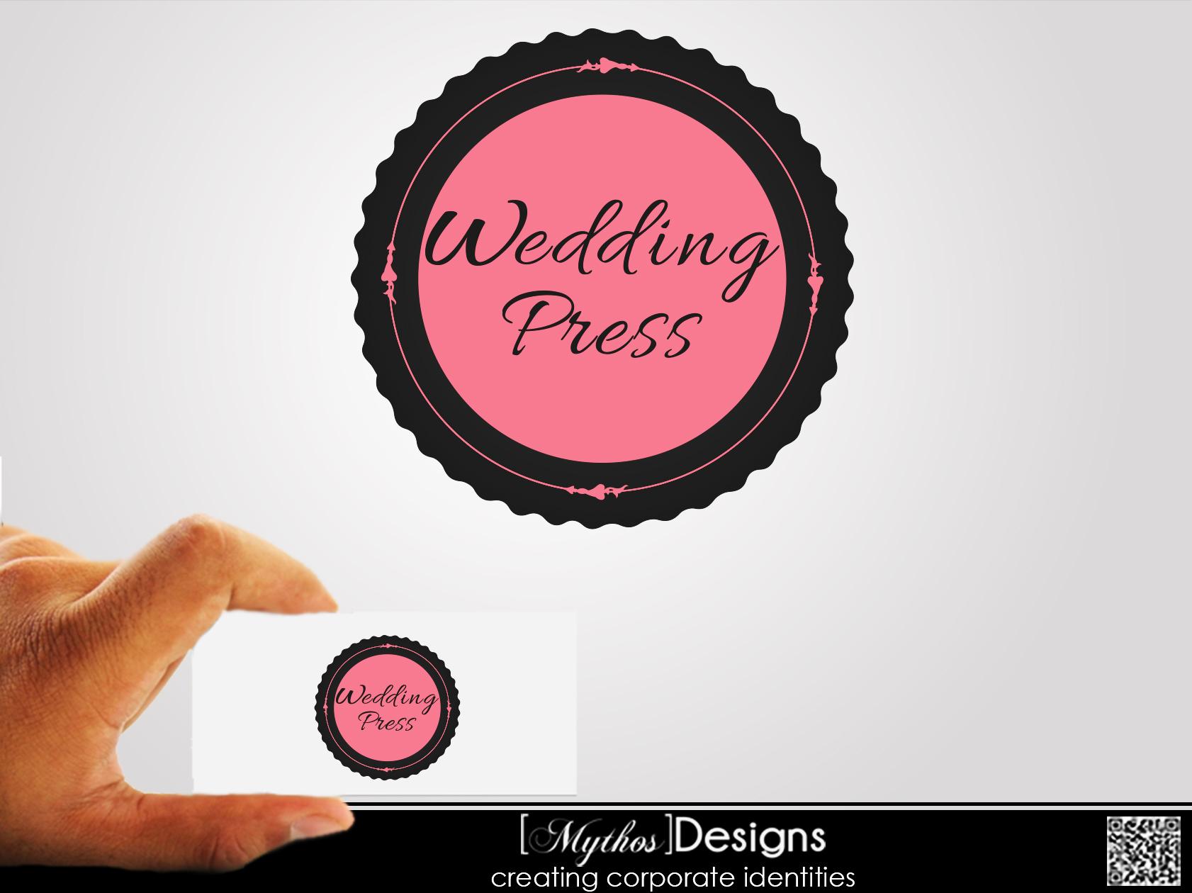 Logo Design by Mythos Designs - Entry No. 8 in the Logo Design Contest Wedding Writes Logo Design.