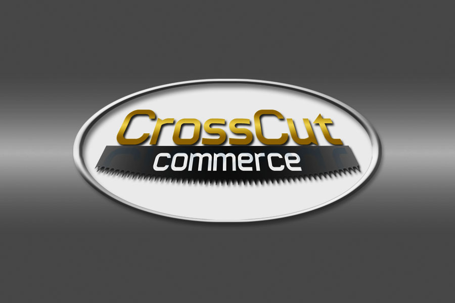 Logo Design by Private User - Entry No. 65 in the Logo Design Contest New Logo Design for CrossCut Commerce.
