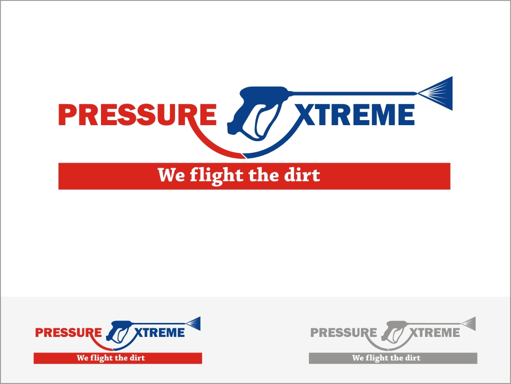 Logo Design by RED HORSE design studio - Entry No. 70 in the Logo Design Contest New Logo Design for PRESSUREXTREME.